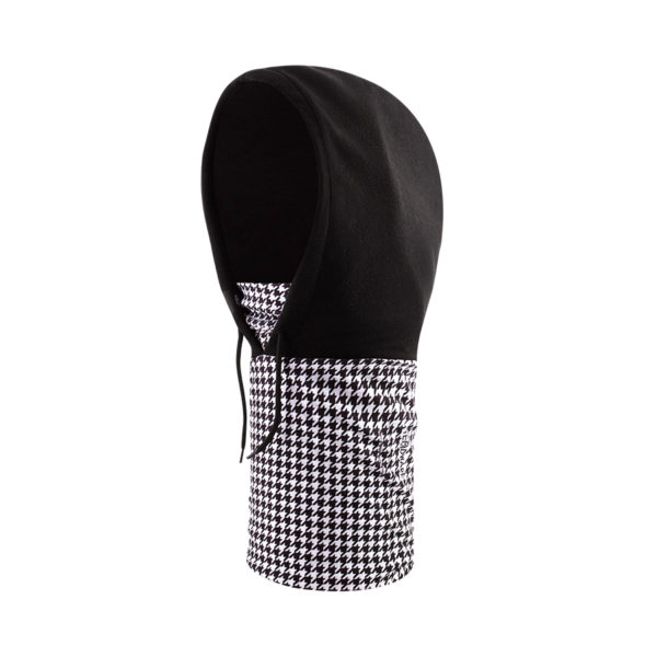 Hoodie-White-Houndstooth